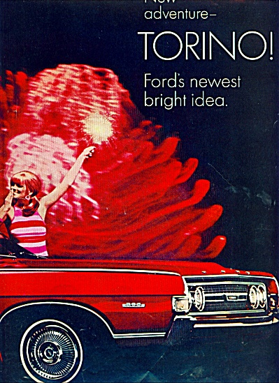 Ford Torino  ad  for 1968 (Image1)