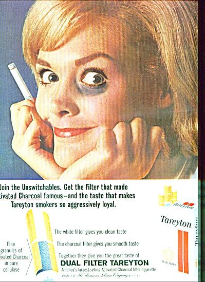 Tareyton dual filter cigarettes ad 1964 (Image1)