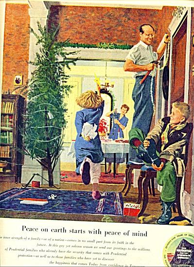 1950 Prudential Insurance AD AUSTIN BRIGGS (Image1)