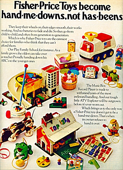 Fisher-price toys ad 1972 (Image1)