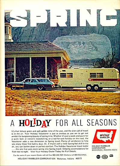 1972 Holiday RamblerTravel Trailer AD (Image1)