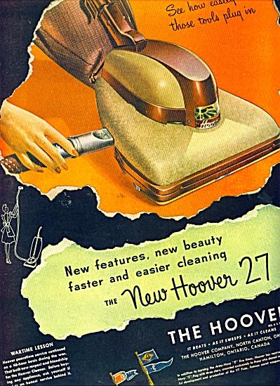 1946 Hoover 27 VACUUM  PROMO AD (Image1)
