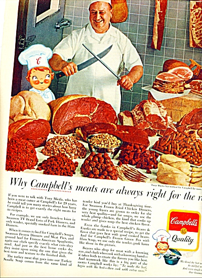 Campbell's quality products ad 1964 (Image1)