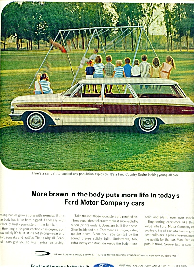 Ford Station wagon ad 1964 (Image1)