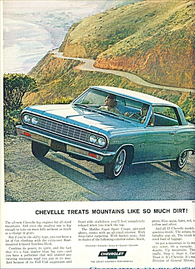 1964 Chevrolet Chevelle AD Up  Mountain PROMO (Image1)