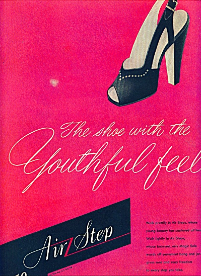 Air Step shoes ad 1945 (Image1)