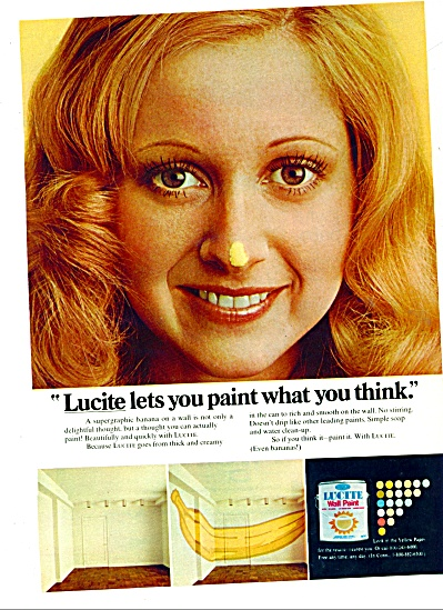 Lucite Wall paint ad 1972 (Image1)