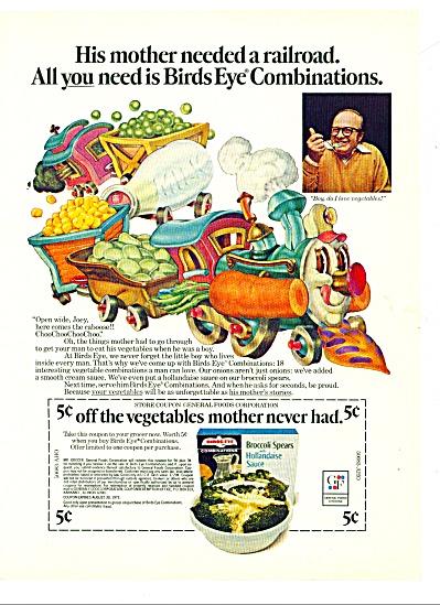 Birds Eye combinations ad 1972 (Image1)
