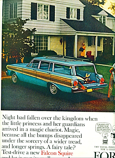 1963 Ford Falcon Station Wagon CAR AD (Image1)