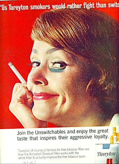 Tareyton dual filter cigarettes ad 1963 (Image1)