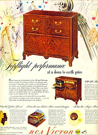 1948 RCA Victor phonographs - radios AD 8V112 (Image1)