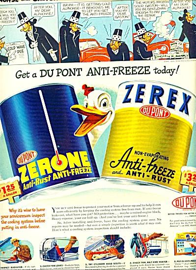 1948 Zerone - Zerex AD ALPHONSE GASTON (Image1)