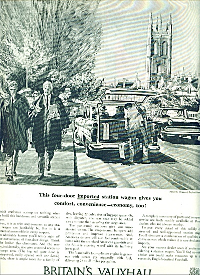 Britain's Vauxhall station wagon ad 1959 (Image1)