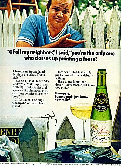 Champale Malt liquor ad (Image1)