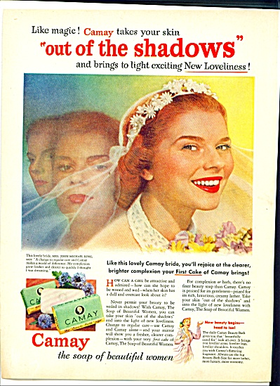 1952 Camay Soap ad Bride Mrs John King (Image1)
