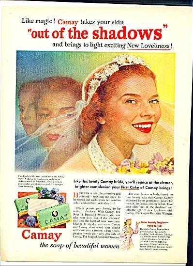 1952 Camay Soap ad Bride Mrs John King (Image1)