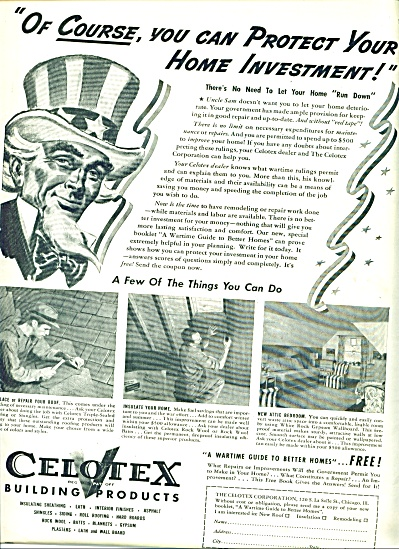Celotex building products ad 1942 (Image1)