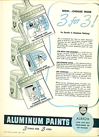 1946 Aluminum paints - Alcoa AD (Image1)