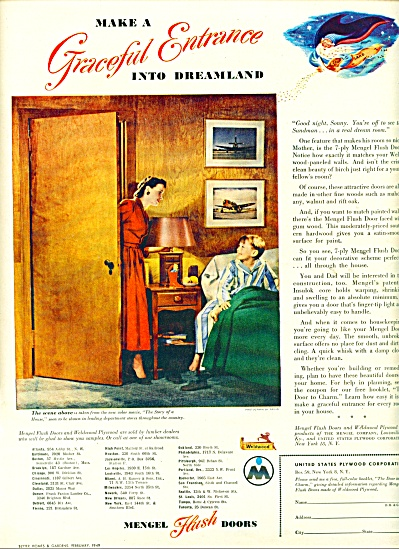 1949 Mengal Door AD SARRA Photo STORY HOUSE (Image1)