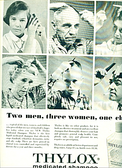 1956 Thylox Medicated Shampoo AD (Image1)