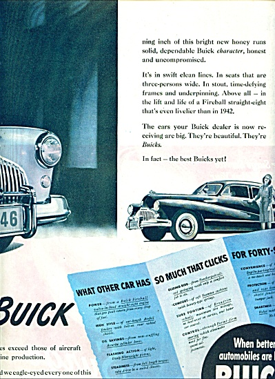 Buick automobile ad 1945 (Image1)