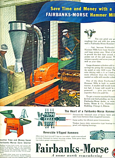 Fairbanks-Morse hammer mill ad 1945 (Image1)