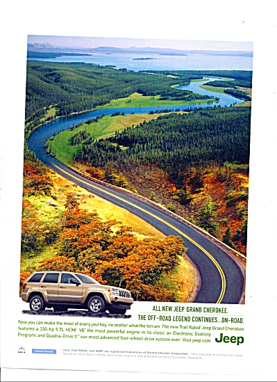 All new Jeep Grand Cherokee ad 2005 (Image1)