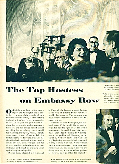 1959 Top Hostess on Embassy Row Story (Image1)
