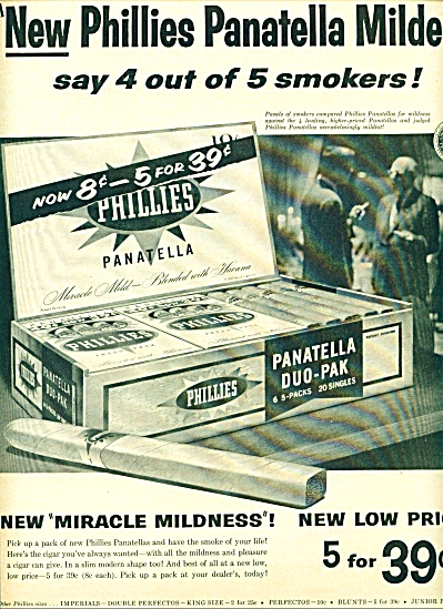 Panatella duo-pak ad 1958 (Image1)