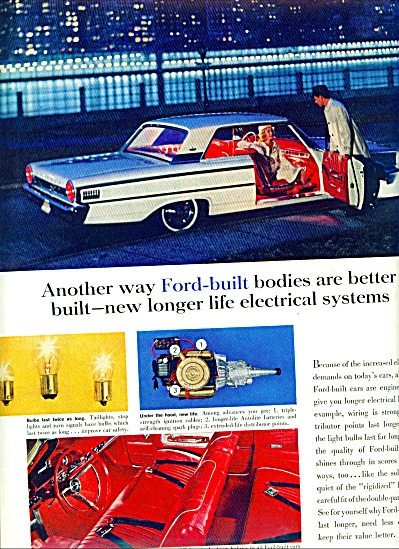 Ford Motor Car bodies ad 1963 (Image1)