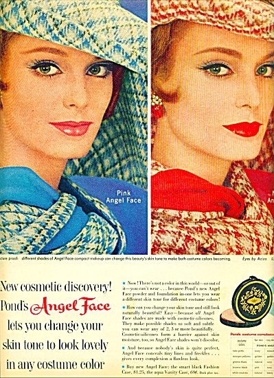 1961 Angel Face MakeUp AD PINK - Woman (Image1)