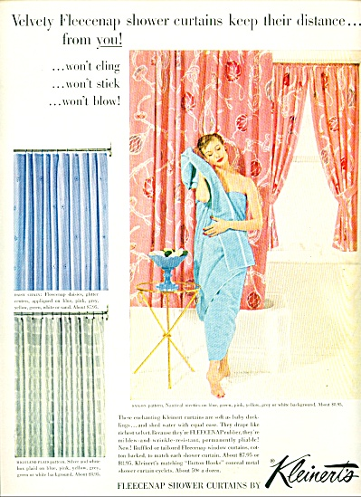 1954 Kleinerts Shower AD Lady in Towel (Image1)