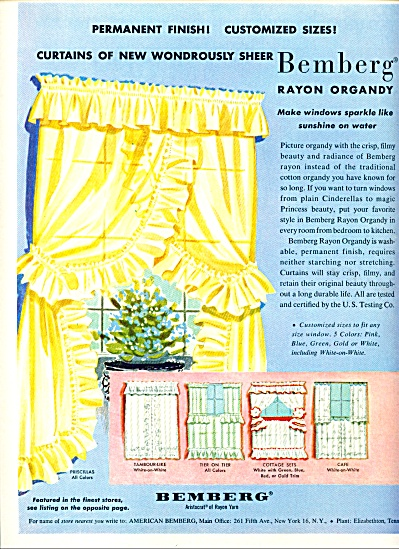Bemberg aristocrat of Rayon yarn ad (Image1)