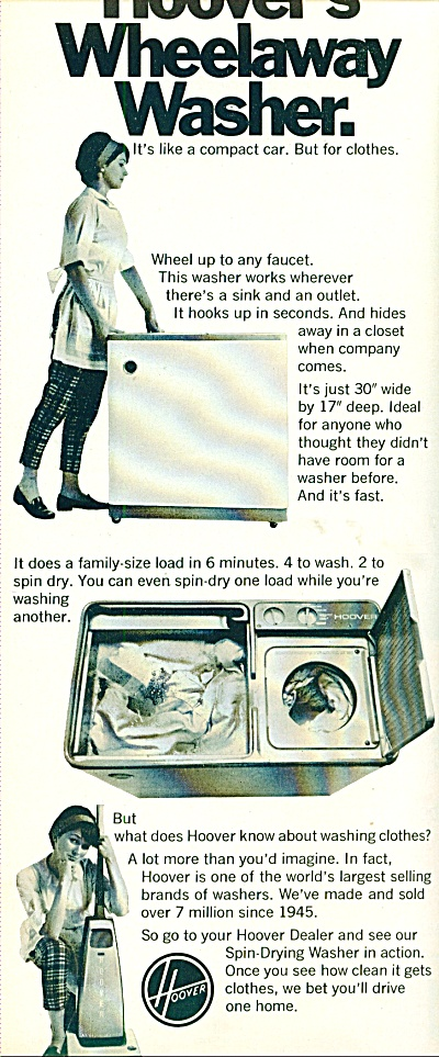 Hoover's wheelaway washer ad 1969 (Image1)