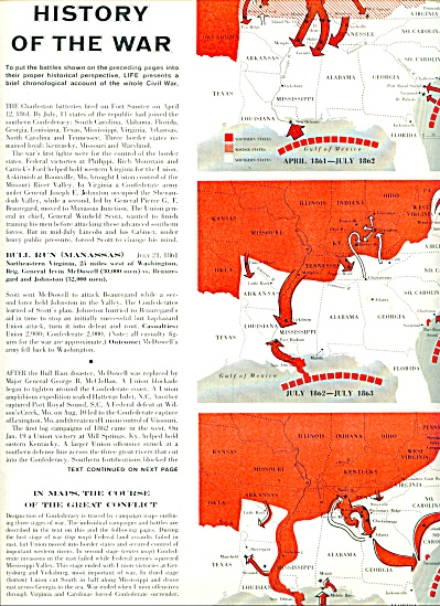 1961 A capsule history of the CIVIL WAR 6pg (Image1)