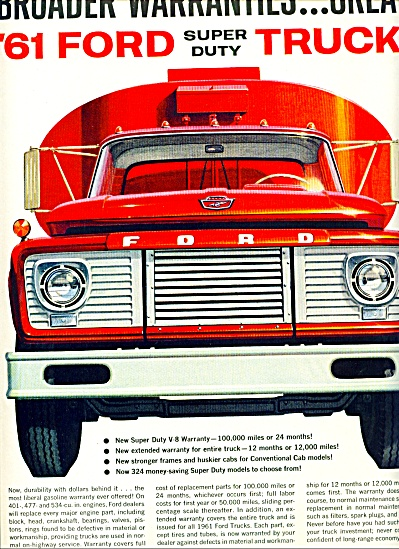 Ford Trucks for 1961 (Image1)