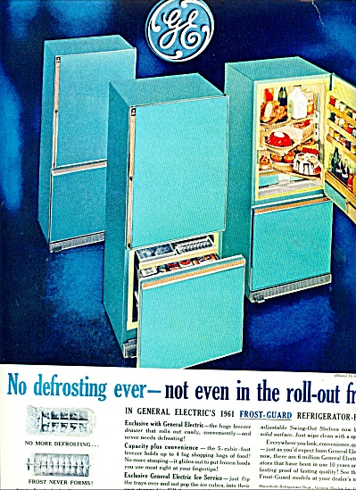 1961 General Electric AQUA Refrigerator AD (Image1)