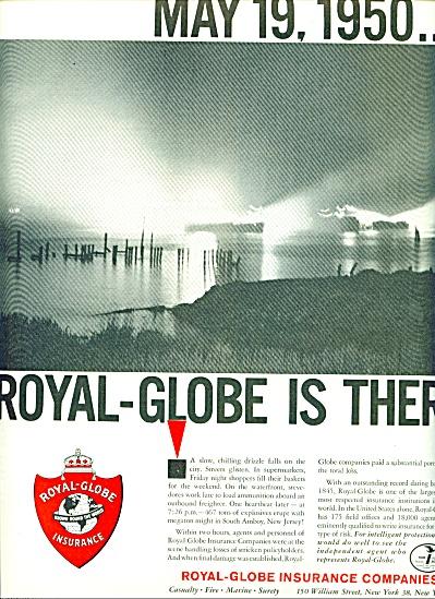 Royal globe insurance companies  1961 ad (Image1)