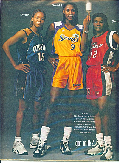 Got Milk ad - Women Basketball SWOOPS McCRAY (Image1)
