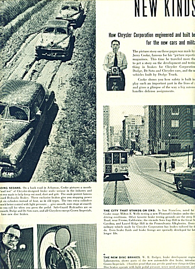 Chrysler Corporation - New kinds of brakes ad (Image1)