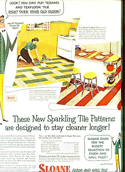 1952 Sloane Floor - Wall TERANO TILE AD (Image1)