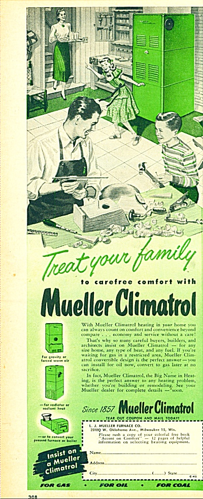 Mueller climatrol ad 1952 (Image1)