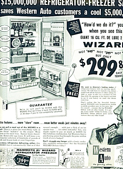 Western Auto - the family store ad 1960 (Image1)