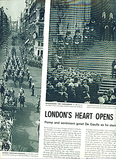 1960 DE GAULLE visits London Story - France (Image1)