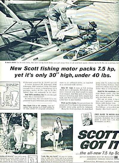 Scott fishing motor ad 1960 (Image1)