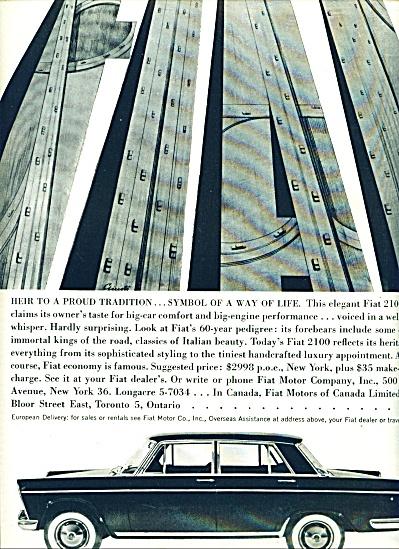 Fiat automobile ad 1960 (Image1)