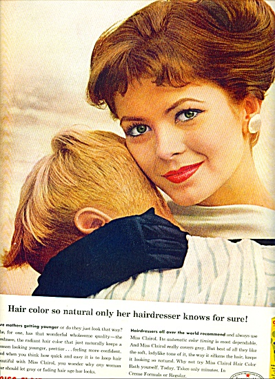 1960 Miss Clairol ONLY HER HAIRDRESSER AD (Image1)
