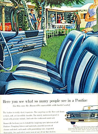 Pontiac automobile ad 1960 (Image1)