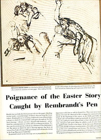 Poignance of Easter story = Rembrandt's Pen (Image1)