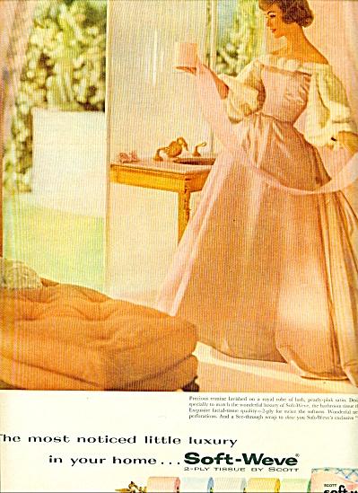 1959 Scott Tissue AD ERMINE - SATIN PINK LADY (Image1)
